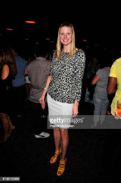 Karen Tcherevkoff attends The Target Kaleidoscopic Fashion Spectacular Lights up New York City at The Standard on August 18 2010 in New York City