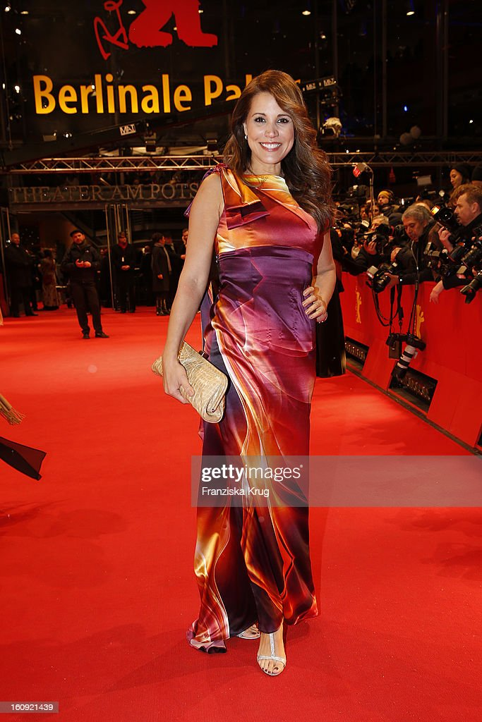 Karen Webb arrives at the 'The Grandmaster' Premiere - BMW at the 63rd Berlinale International Film Festival at the Berlinale Palast on February 7, 2013 in Berlin, Germany.