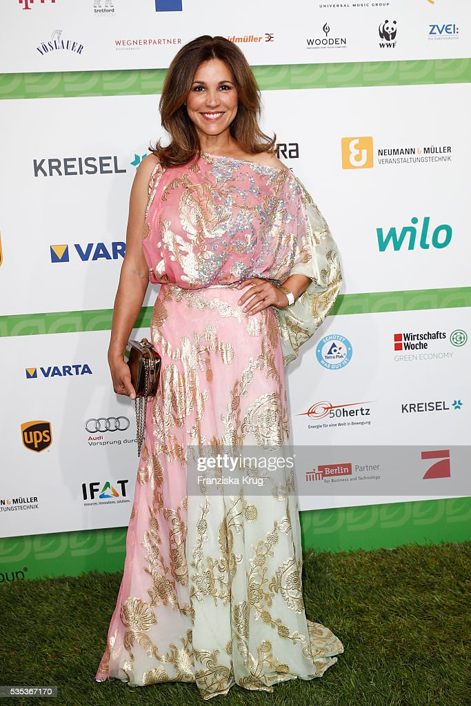 Karen Webb attends the Green Tec Award at ICM Munich on May 29, 2016 in Munich, Germany.
