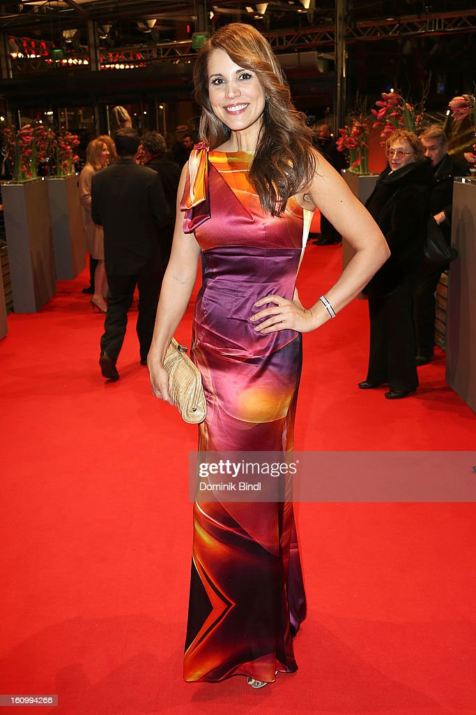 Karen Webb attends the opening party of the 63rd Berlinale International Film Festival at The Berlinale Palace on February 7, 2013 in Berlin, Germany.