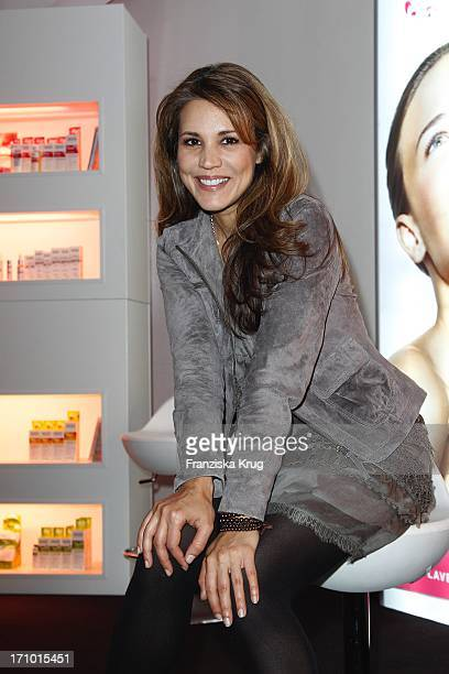 Karen Webb Beim Brigitte Fashion Event In Der Alten Kongresshalle In München