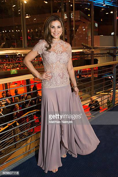 Karen Webb the opening party of the 66th Berlinale International Film Festival Berlin at Berlinale Palace on February 11 2016 in Berlin Germany
