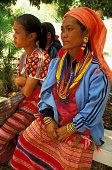 Karen Women at Songkran Festival