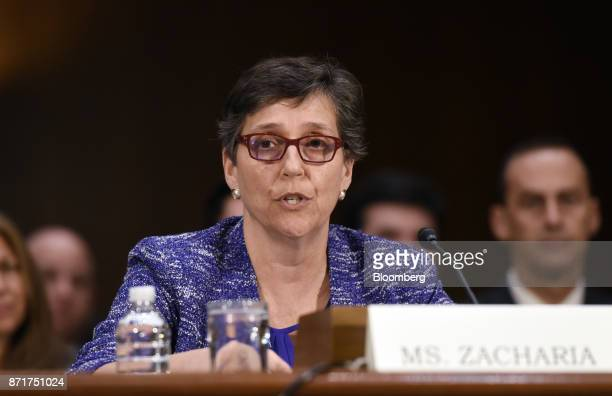 Karen Zacharia deputy general counsel and chief privacy officer with Verizon Communications Inc testifies during a Senate Commerce Science and...