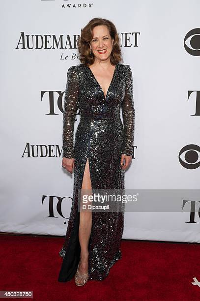 Karen Ziemba attends the American Theatre Wing's 68th Annual Tony Awards at Radio City Music Hall on June 8 2014 in New York City