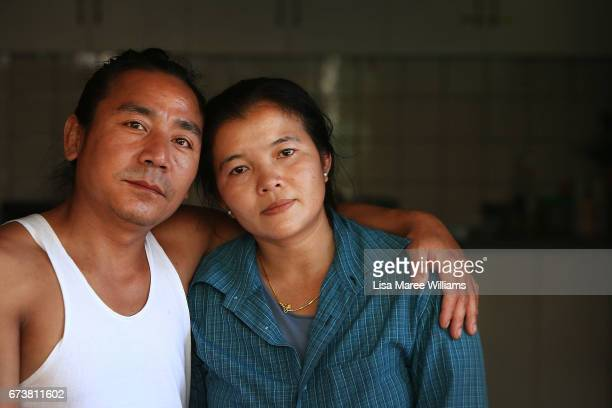 Karenni Burmese Po Ko Ko and Christer Bell at their home on January 27 2017 in Tamworth Australia Tamworth is a large regional city in the New...