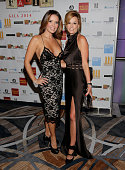 Karent Sierra and Gina Milton attend Alifat International Inc's Annual Global Literacy Dinner at InterContinental Miami on September 27 2014 in Miami...
