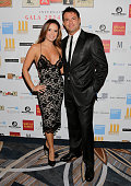 Karent Sierra and Romain Zago attend Alifat International Inc's Annual Global Literacy Dinner at InterContinental Miami on September 27 2014 in Miami...