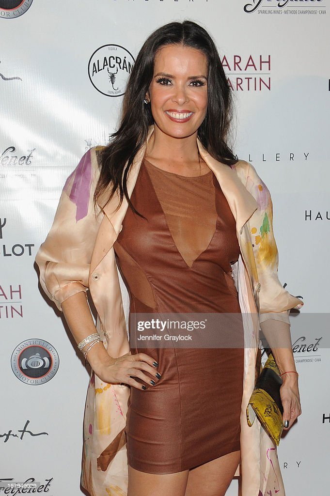 Karent Sierra of Real Housewives of Miami attends the Haute Living Hublot And Ferrari Honor Domingo Zapata For Art Basel 2012 on December 7, 2012 in Miami, United States.