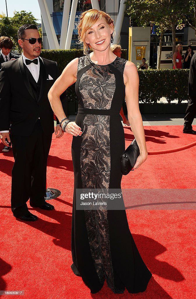 Kari Byron attends the 2013 Creative Arts Emmy Awards at Nokia Theatre L.A. Live on September 15, 2013 in Los Angeles, California.