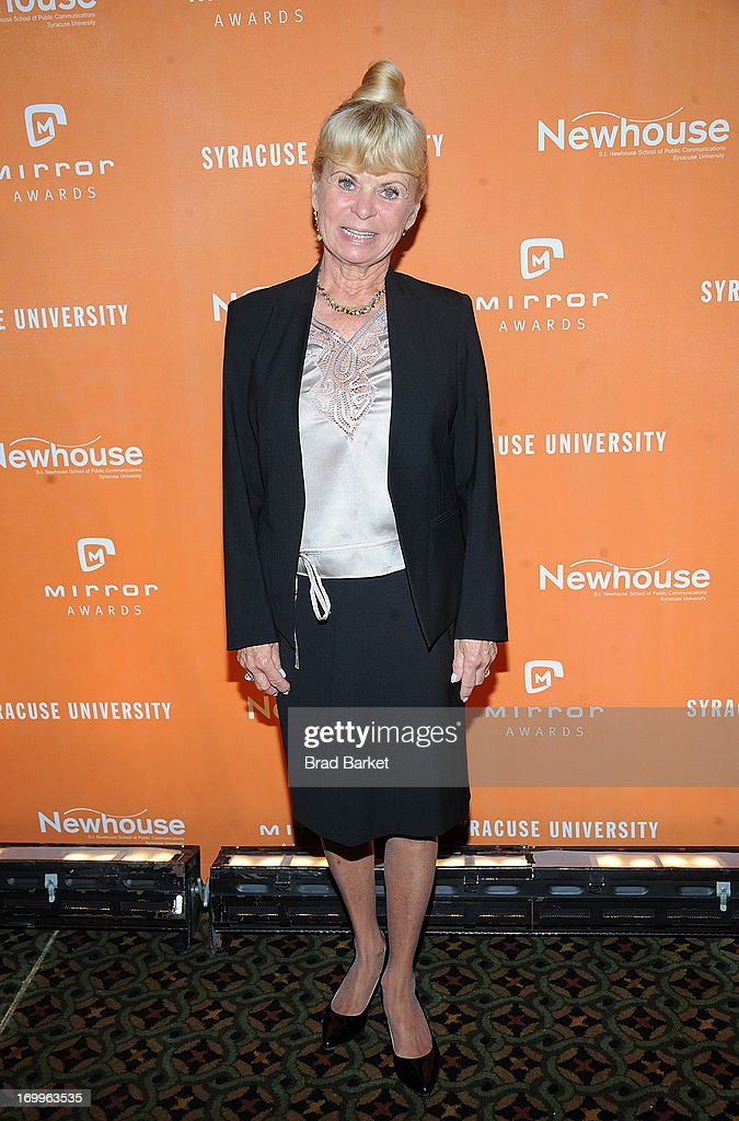 Kari Clark attends the 2013 Newhouse Mirror Awards at Cipriani 42nd Street on June 5 2013 in New York City
