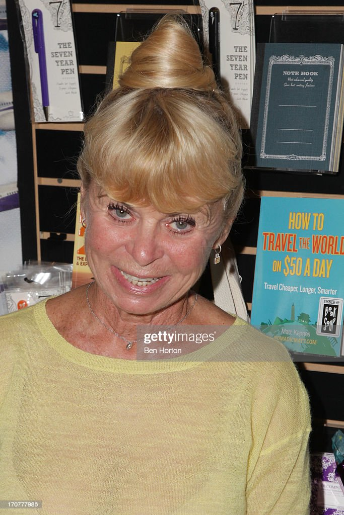 Kari Clark attends the Gary US Bonds book signing at Book Soup on June 17 2013 in West Hollywood California