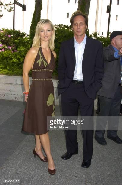 Kari Matchett and William Fichtner of 'Invasion' during 2005/2006 ABC UpFront at Lincoln Center in New York City New York United States