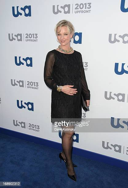 Kari Matchett attends USA Network 2013 Upfront Event at Pier 36 on May 16 2013 in New York City