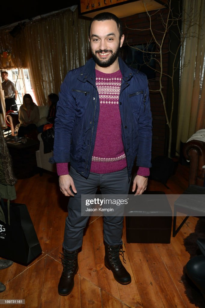 Karim Amer attends Day 2 of UGG at Village At The Lift 2013 on January 19, 2013 in Park City, Utah.