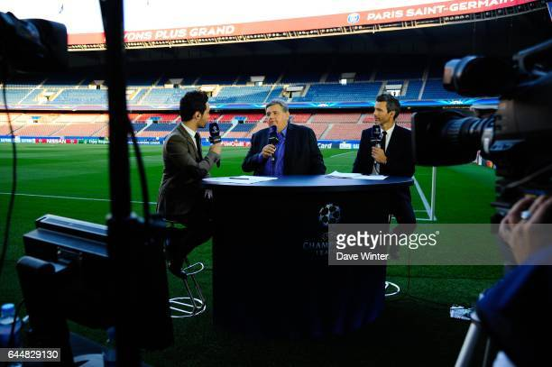 Karim Bennani / Pierre Menes / Dominique Armand Paris Saint Germain / Barcelone Champions League Photo Dave Winter / Icon Sport