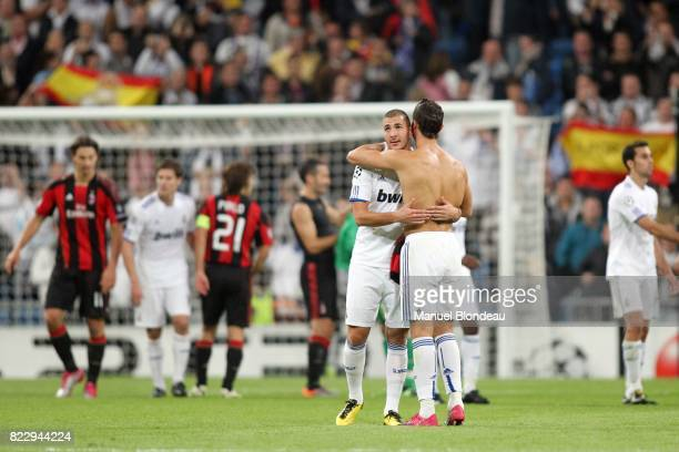Karim Benzema / Cristiano Ronaldo Real Madrid / Milan AC Champions League 2010/2011