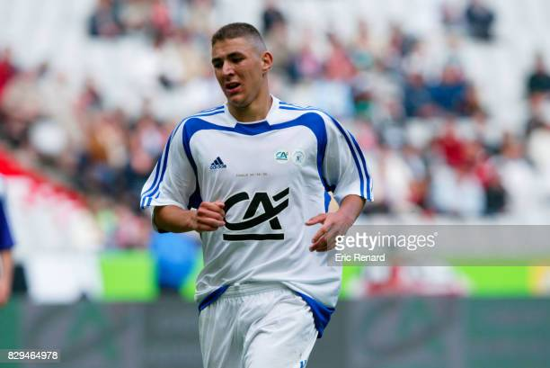 Karim Benzema of Lyon during Gambardella Final match between Toulouse and Lyon on June 4th 2005 Eric Renard / Icon Sport