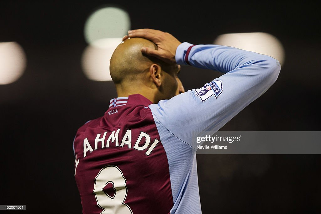 <a gi-track='captionPersonalityLinkClicked' href=/galleries/search?phrase=Karim+El+Ahmadi&family=editorial&specificpeople=2345993 ng-click='$event.stopPropagation()'>Karim El Ahmadi</a> of Aston Villa during the Barclays Premier League match between West Bromwich Albion and Aston Villa at The Hawthorns on November 25, 2013 in West Bromwich, England.