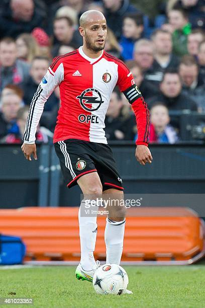 Karim El Ahmadi of Feyenoord during the friendly match between Feyenoord and FC Emmen on January 4 2014 at the Kuip stadium in Rotterdam The...