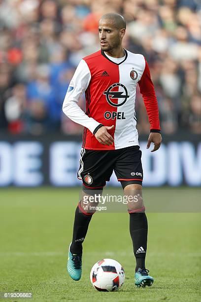 Karim El Ahmadi of Feyenoordduring the Dutch Eredivisie match between sc Heerenveen and Ajax at the Kuip on October 30 2016 in Rotterdam The...
