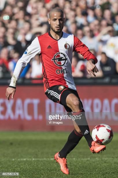 Karim el Ahmadi of Feyenoordduring the Dutch Eredivisie match between Feyenoord Rotterdam and AZ Alkmaar at the Kuip on March 12 2017 in Rotterdam...