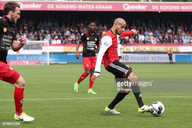 Karim El Ahmadi of Feyenoordduring the Dutch Eredivisie match between sbv Excelsior Rotterdam and Feyenoord Rotterdam at Van Donge De Roo stadium on...