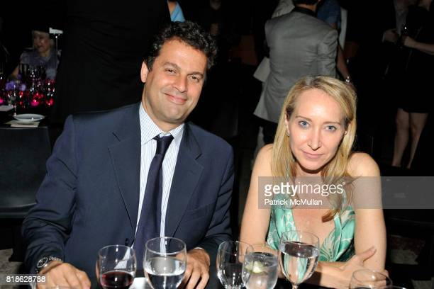 Karim Gabez and Allison Storr attend NEW YORK CITY BALLET'S Dance with the Dancers Benefit at David H Koch Theater Lincoln Center on June 14th 2010...