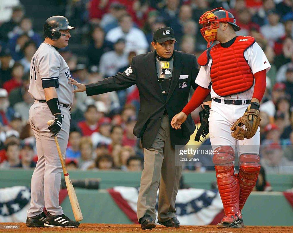 American league championship series game 3 yankees v red - Pedro martinez garcia ...