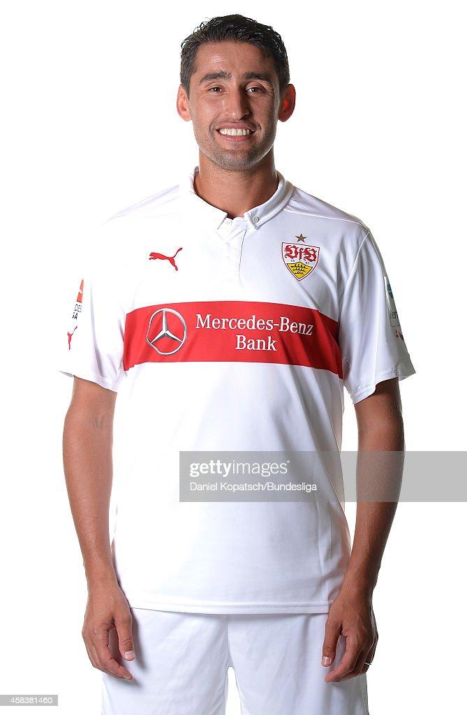 Karim Haggui poses during the VfB Stuttgart Media Day on July 24, 2014 in Stuttgart, Germany.