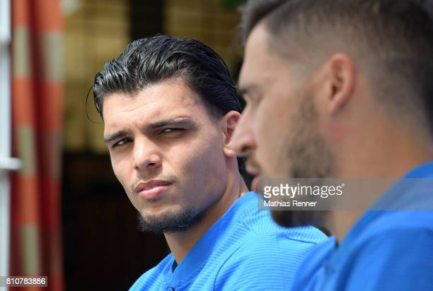 Karim Rekik during the first day of the training camp of Hertha BSC on July 8 2017 in Bad Saarow Germany