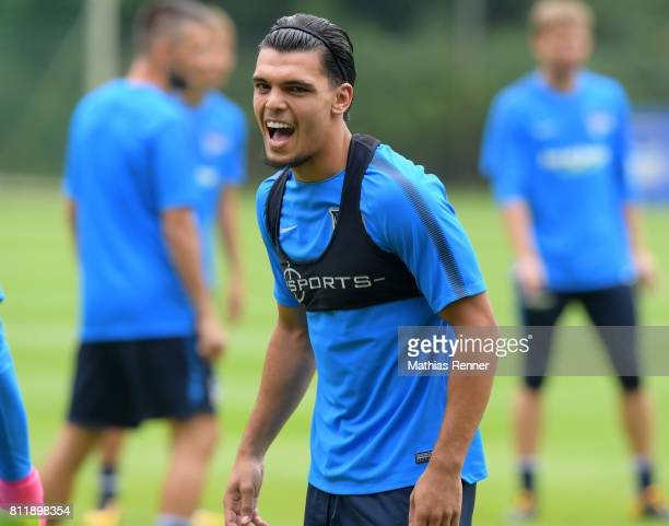 Karim Rekik of Hertha BSC during the training camp of Hertha BSC on july 10 2017 in Bad Saarow Germany
