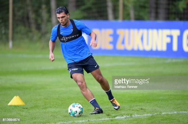 Karim Rekik of Hertha BSC during the training camp of Hertha BSC on july 11 2017 in Bad Saarow Germany