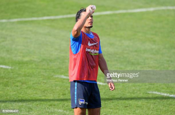 Karim Rekik of Hertha BSC during the training camp on august 4 2017 in Schladming Austria