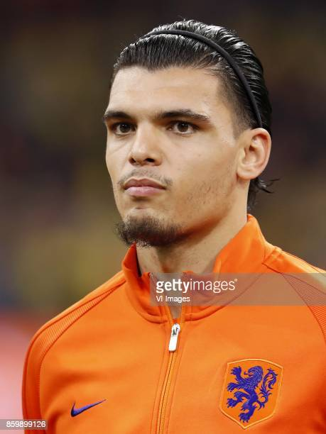 Karim Rekik of Holland during the FIFA World Cup 2018 qualifying match between The Netherlands and Sweden at the Amsterdam Arena on October 10 2017...
