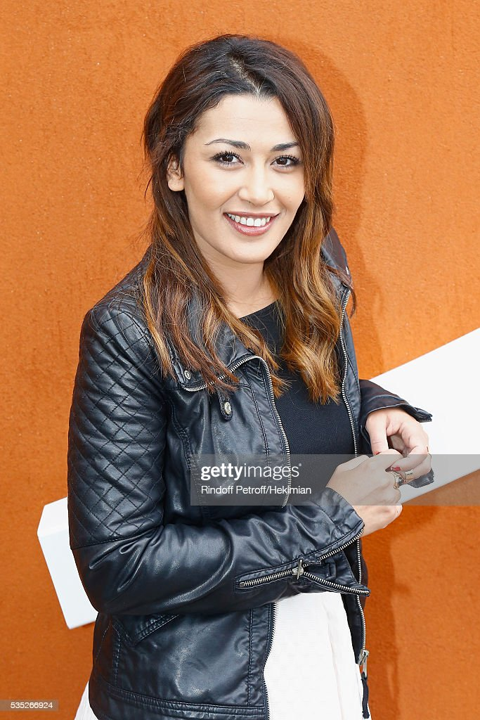 Karima Charni attends the French Tennis Open Day 8 at Roland Garros on May 29, 2016 in Paris, France.