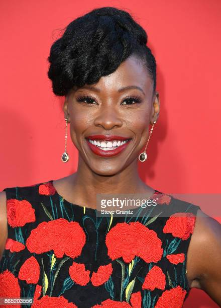 Karimah Westbrook arrives at the Premiere Of Paramount Pictures' 'Suburbicon' at Regency Village Theatre on October 22 2017 in Westwood California