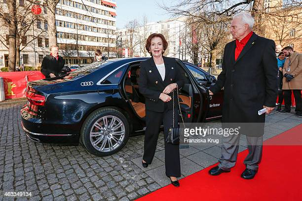 Karin Dor attends 'The Misplaced World' Premiere AUDI At The 65th Berlinale International Film Festival on February 12 2015 in Berlin Germany