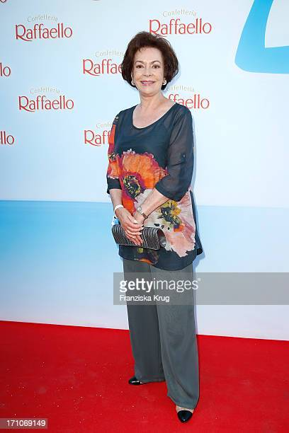 Karin Dor attends the Raffaello Summer Day 2013 at Kronprinzenpalais on June 21 2013 in Berlin Germany