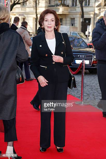 Karin Dor attends the ''The Misplaced World' Premiere 65th Berlinale International Film Festival on February 13 2015 in Berlin Germany