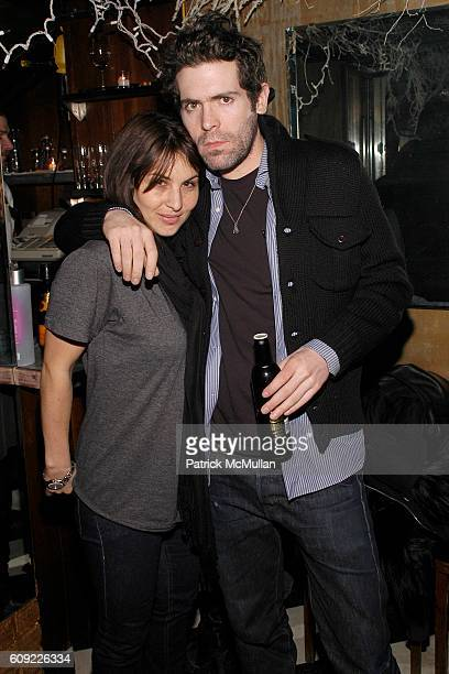 Karin Nelson and Brain McPeck attend PURPLE FASHION MAGAZINE Party Hosted by the VILLENCY EMERGING FASHION FUND at Beatrice Inn on February 6 2007 in...