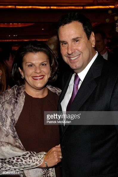Karin Sadove and Steve Sadove attend 30th Anniversary of NATORI Honoring JOSIE NATORI at La Grenouille on November 1 2007 in New York