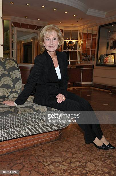 Karin Stoiber attends the Christina Duxa Couture Ladies Lunch at Hotel Bayerischer Hof on November 25 2010 in Munich Germany