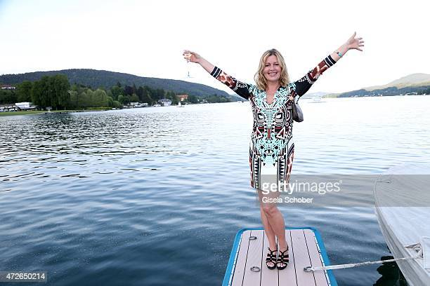 Karin Thaler during the 'Ein Schloss am Woerthersee' 25th anniversary gala on May 8 2015 in Velden Austria
