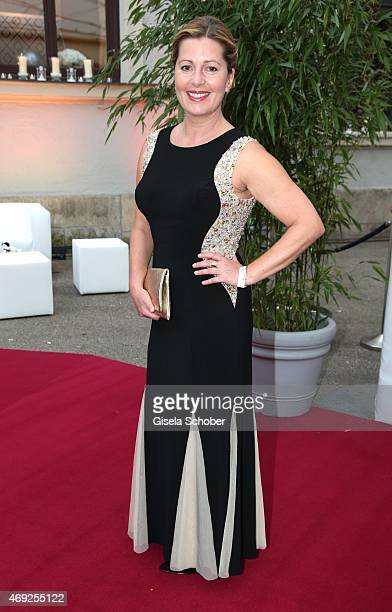 Karin Thaler during the German premiere for Amazon's original drama series 'Transparent' at Kuenstlerhaus am Lenbachplatz on April 10 2015 in Munich...