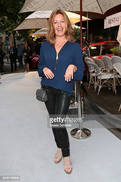 Karin Thaler during the Peugeot BVC Casting Night during the Munich Film Festival 2016 at Kaeferschaenke on June 26 2016 in Munich Germany