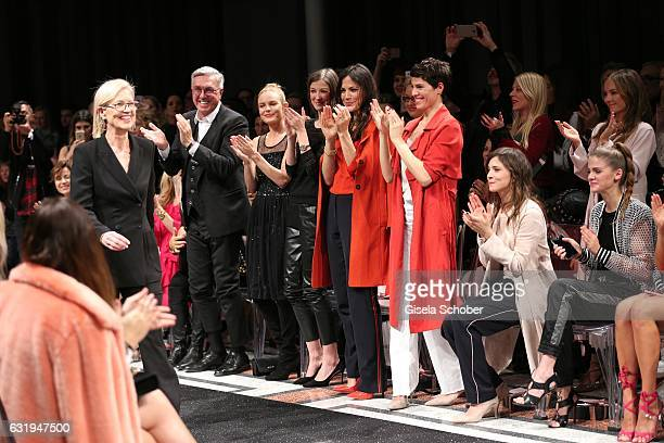 Karin Veit chief designer Marc Cain Helmut Schlotterer Founder and CEO of Marc Cain Kate Bosworth Alexandra Maria Lara Bettina Zimmermann Jasmin...