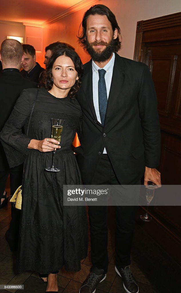 Karina Deyko (L) and David de Rothschild attend the Summer Gala for The Old Vic at The Brewery on June 27, 2016 in London, England.