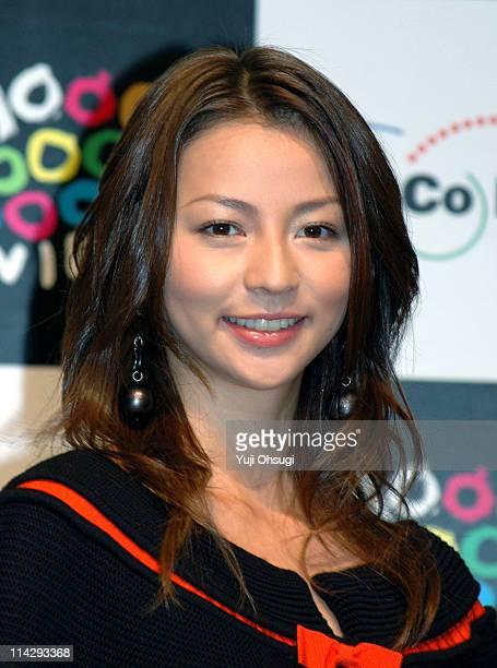 Karina during 18th Tokyo International Film Festival 'Rinne' Press Conference at Roppongi Hills in Tokyo Japan