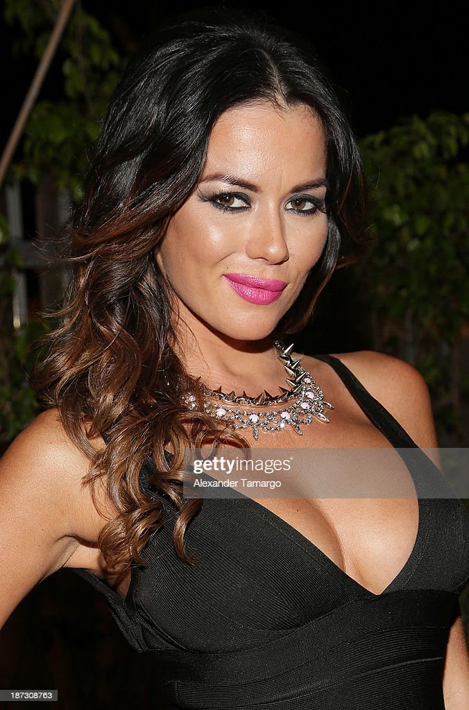 Karina Jelinek attends Miami Hair Beauty and Fashion 2013 by Rocco Donna on November 7, 2013 in Miami, Florida.